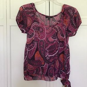 Dunes polyester top